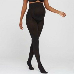 Assets by Spanx Black Maternity Sheers Size 1 New